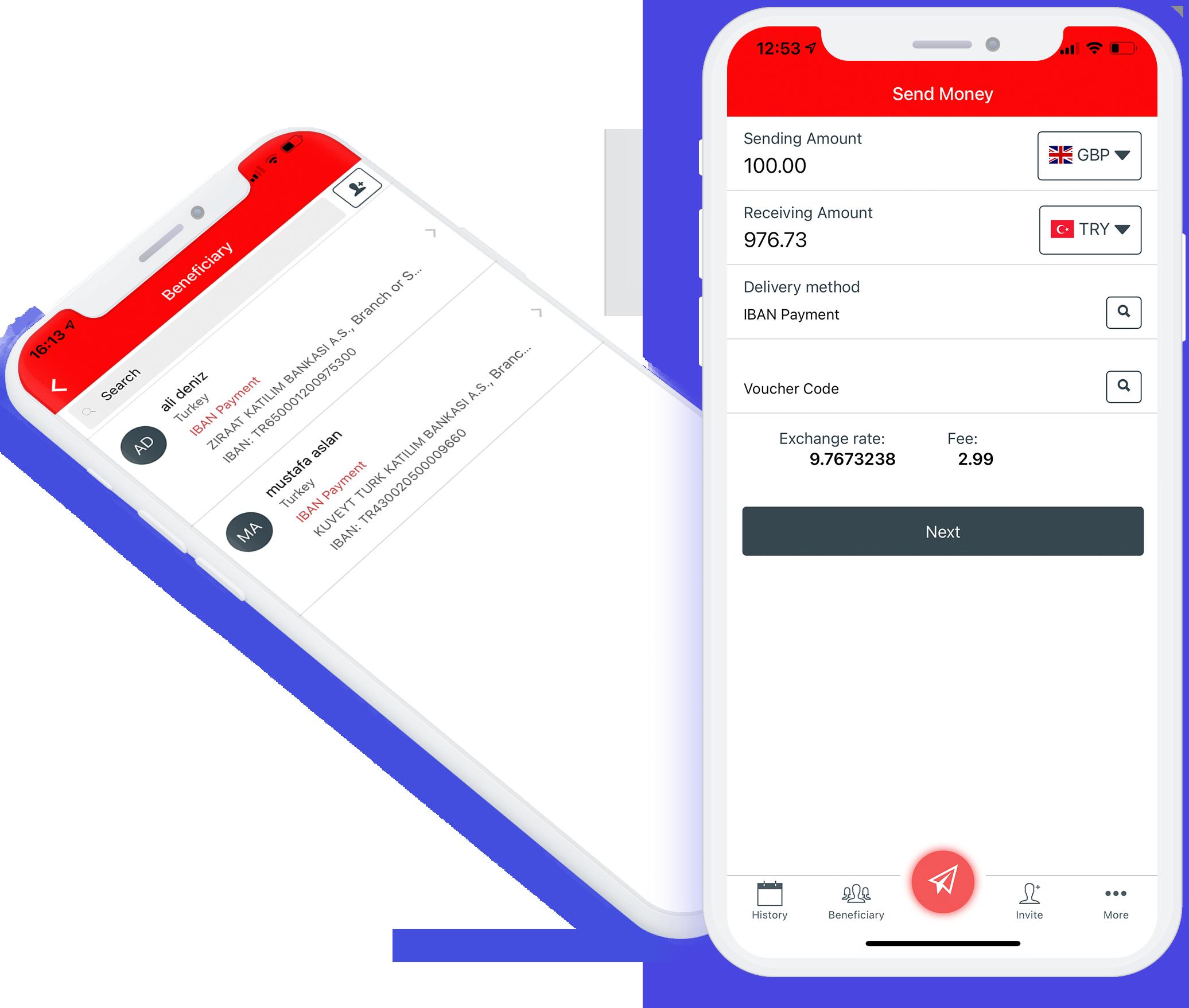 Money Transfer Service YPS download app london Aytac